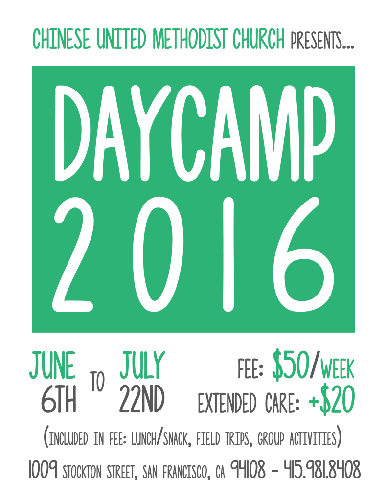 Daycamp 2016 English Flyer