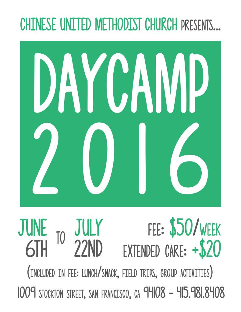 Daycamp 2016 English Flyer